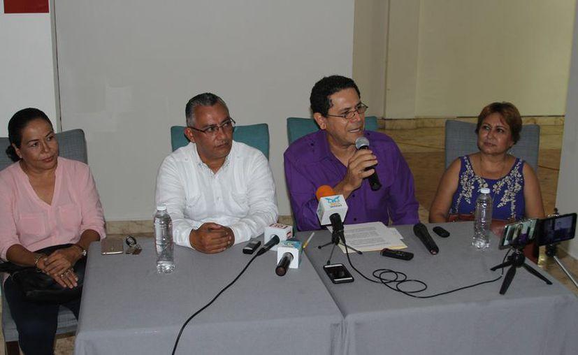 El dirigente del Partido Encuentro Social, Gregorio Sánchez, confirmó sus aspiraciones políticas. (Joel Zamora/SIPSE)