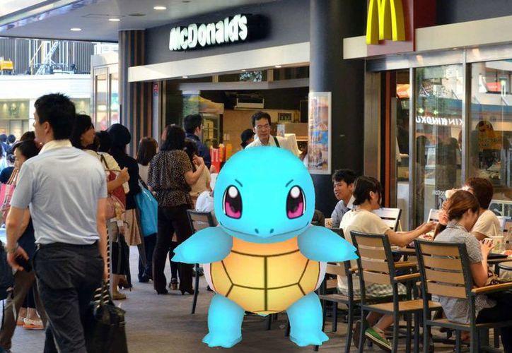 Aun no se conoce la fecha del lanzamiento del juego virtual asociado con McDonald's pero el acuerdo llevaría más clientela a sus expendios de comida.(pixel.nymag.com)