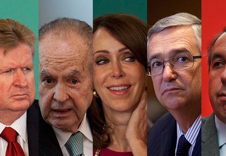 Carlos Slim, sigue encabezando la lista de los hombres más ricos de México. (Forbes)