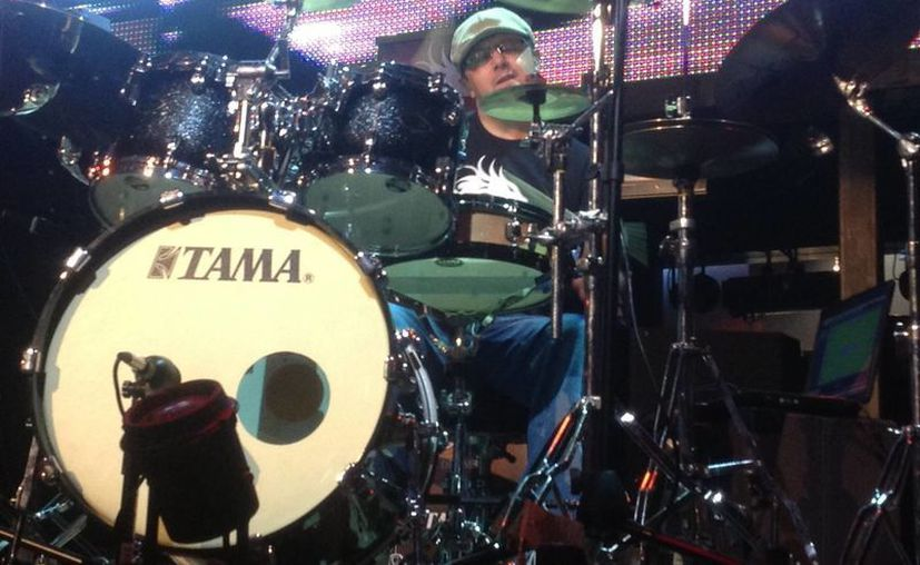 Los bateristas compartieron algunos tips de como tocar. (Carlos Cajero/SIPSE)