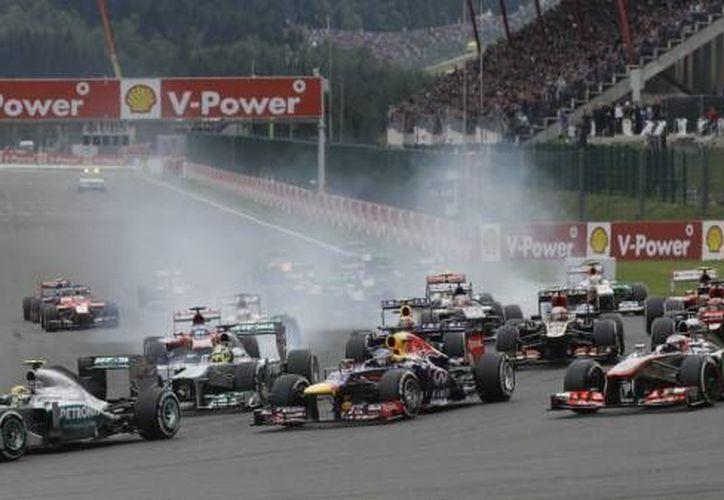 El calendario de la Fórmula Uno será oficial en diciembre próximo. (Agencias/Foto de archivo)
