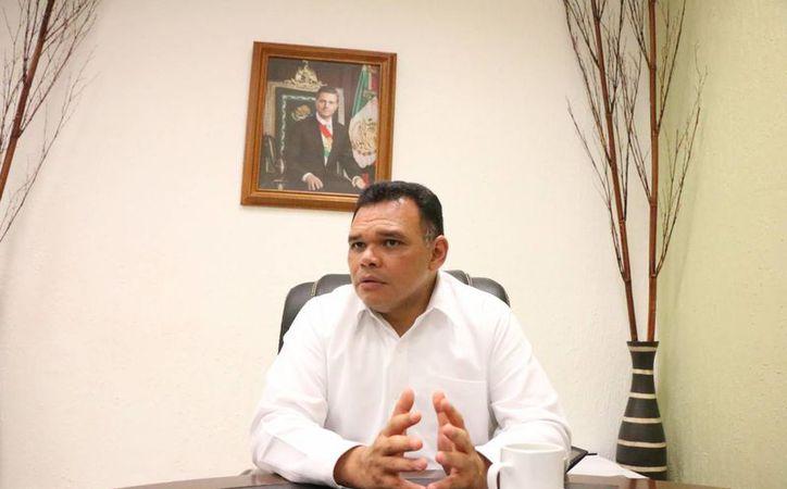'Eliminar el fuero contribuye a la cultura que se generaliza de la transparencia', dijo Rolando Zapata Bello. (José Acosta/Milenio Novedades)