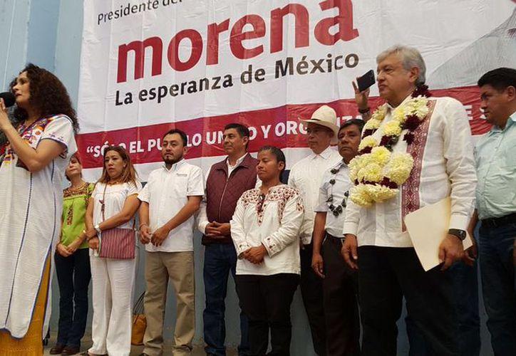 La cantante Susana Harp aceptó ser coordinadora estatal de Morena en Oaxaca. (Foto: NSS Oaxaca)