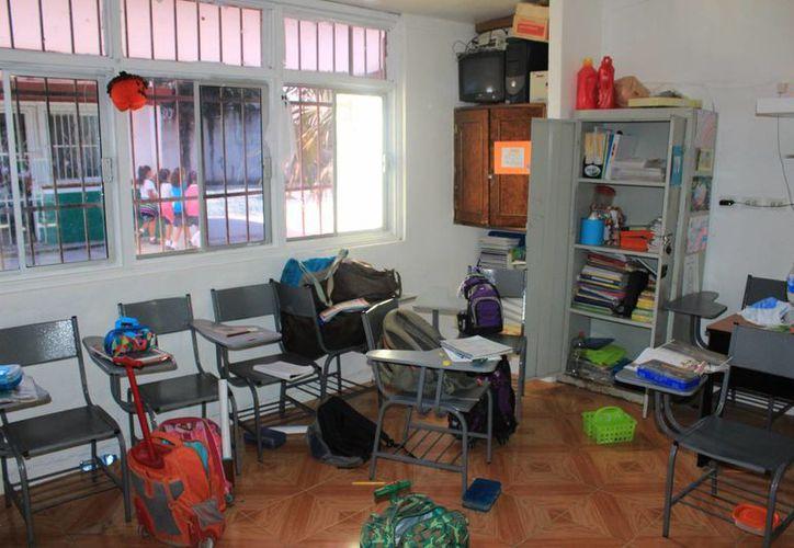 El pasado domingo 13, se registró un robo en el plantel educativo. (Jesús Tijerina/SIPSE)