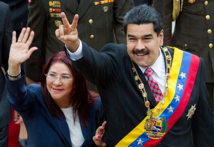 El presidente de Venezuela y su esposa fueron denunciados penalmente en Panamá por presuntas actividades ilícitas. (EFE/Archivo)