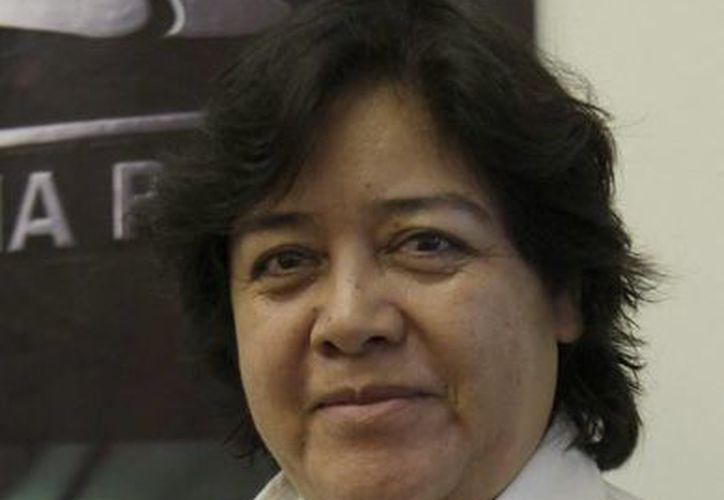 Titular del departamento de Programas de Seguimiento de Promoción Económica de la dependencia estatal, Alejandra Córdova Barrientos. (Redacción/SIPSE)