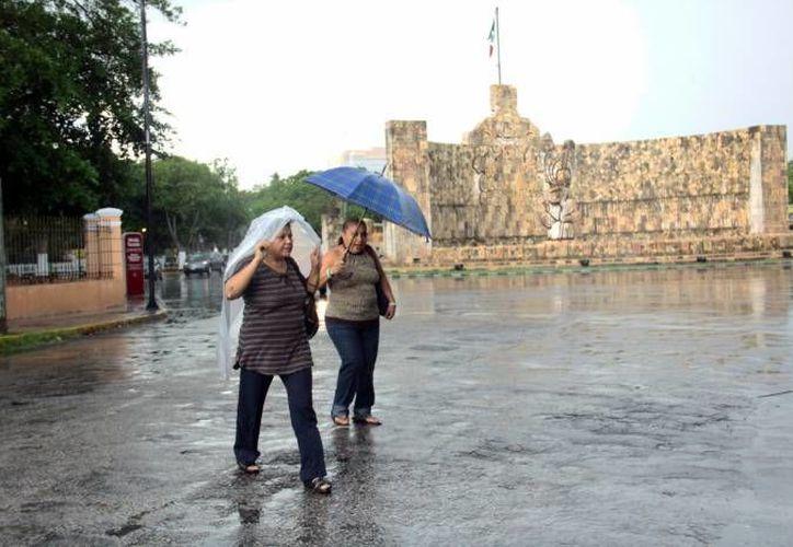 El calor se verá acompañado una vez más por lluvias vespertinas en Yucatán este fin de semana, según un pronóstico de la Conagua. (SIPSE)