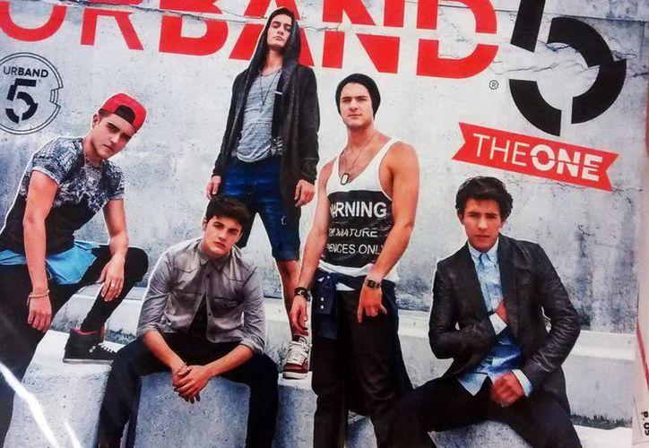 Urband 5 está conformado por cuatro adolescentes mexicanos y uno argentino. (SIPSE)