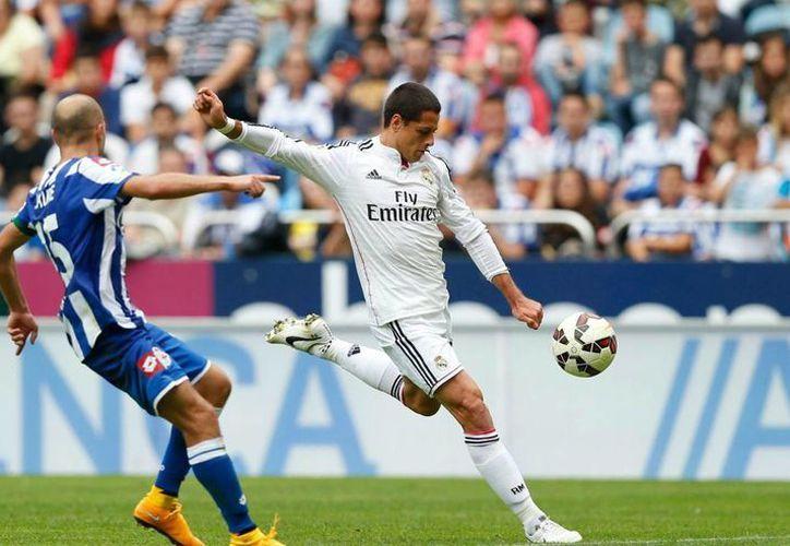 Javier Hernández ha pasado por una primera temporada complicada con Real Madrid. (diariobernabeu.com)