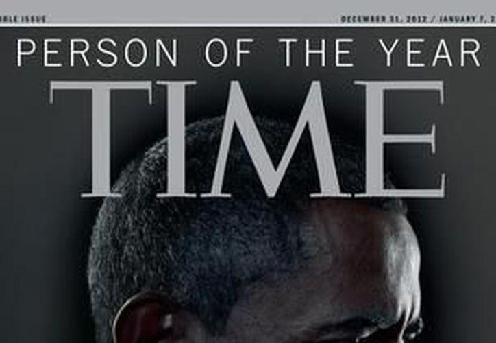 """Obama fue también """"Persona del Año"""" 2008, según Time, cuando era presidente electo. (Agencias)"""