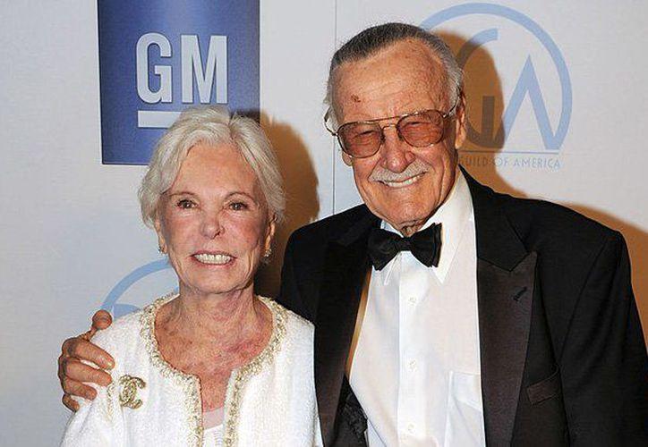 Joan era esposa de Stan Lee, emblema de la editorial Marvel y creador de personajes como Spider-Man, Iron Man y The X-Men. (Foto: Contexto/Internet)