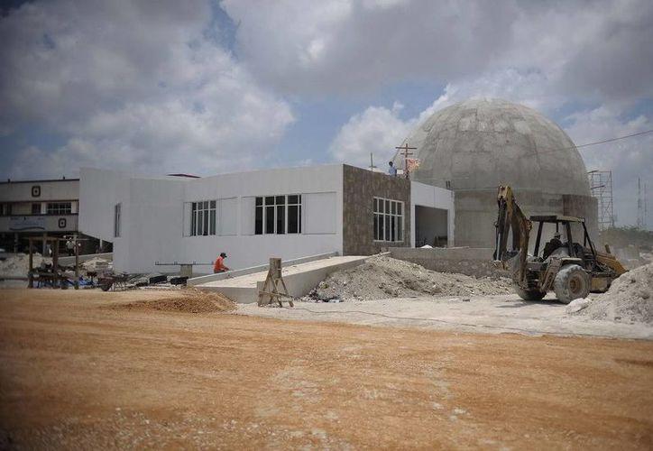 La inversión asciende a 39 millones 480 mil pesos; se espera que para finales de junio quede totalmente listo. (Cortesía/SIPSE)