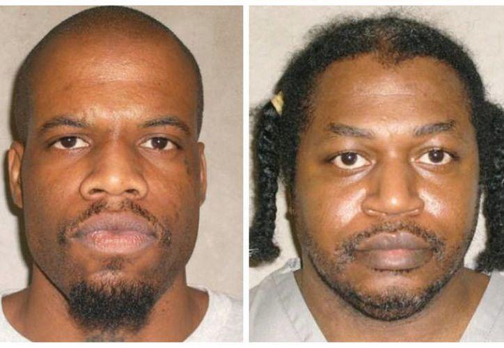Clayton Lockett (izq) murió por un infarto ocasionado por la sobredosis de la sustancia experimental que recibió, mientras que la sentencia de Charles Warner, quien debió ser ejecutado después de Lockett, fue pospuesta. (AP)