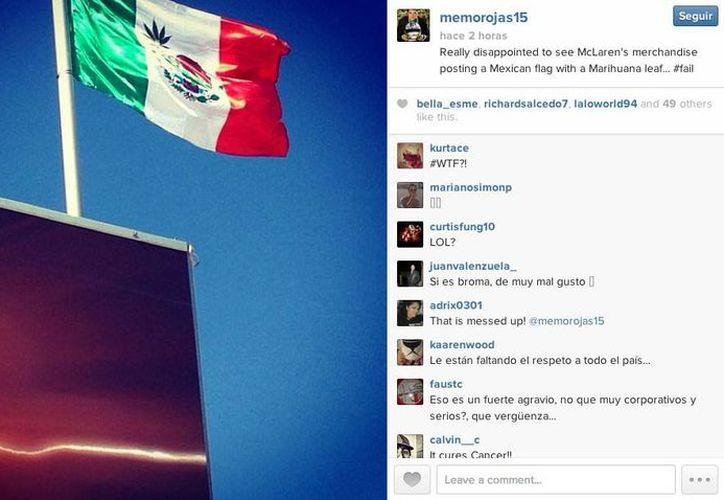 Memo Rojas, campeón de automovilismo mostró su indignación. (Foto: Memo Rojas/Instagram)