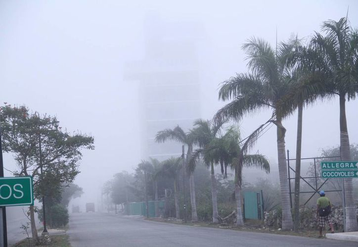 La Conagua prevé que la temperatura en Yucatán baje incluso hasta 10 grados para el viernes. (Jorge Acosta/SIPSE)