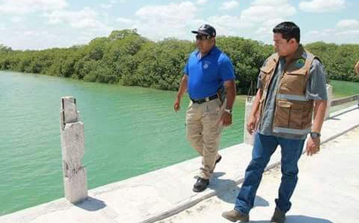 Un equipo  fue a revisar la solicitud del director de Protección Civil. (Redacción/SIPSE).