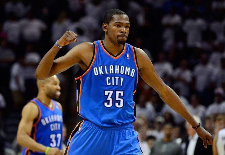 Durant donó 1 mdd y su equipo otro más. (sports-lite.com/Archivo)