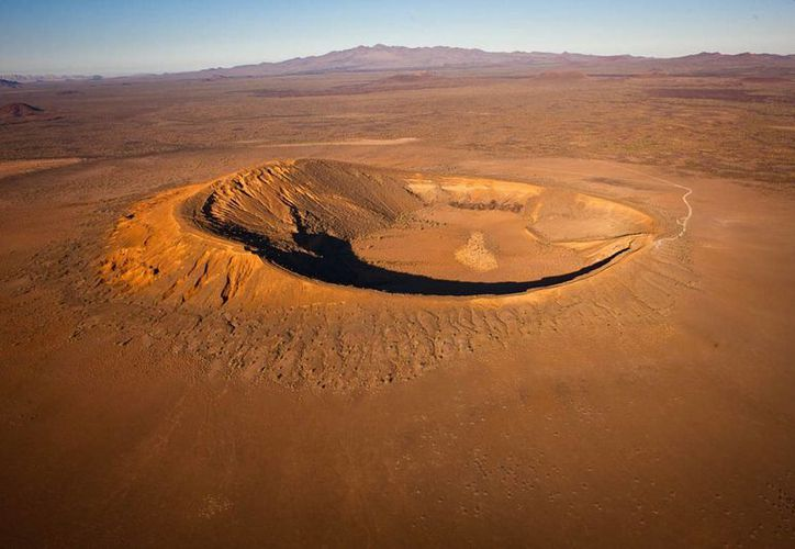 El Pinacate, para muchos, es el corazón y el alma del desierto de Sonora. (Notimex)