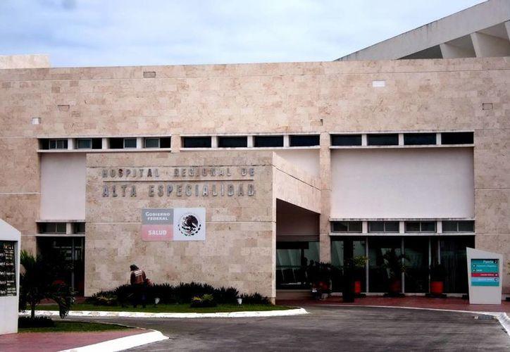Instalaciones del Hospital Regional de Alta Especialidad. (Milenio Novedades)