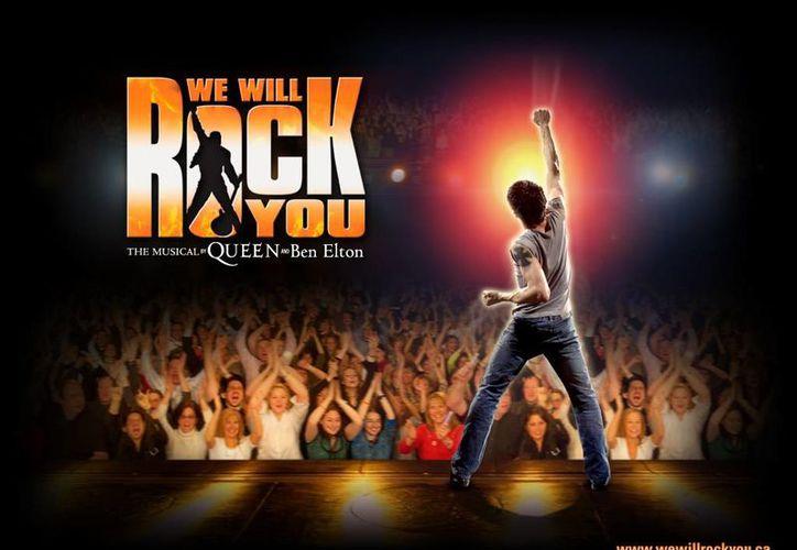 """""""We will rock you"""" ocupa de manera oficial la novena posición como el musical con una temporada más extensa en esa área de Londres.(Internet)"""