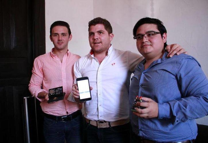 Promueven jóvenes herramienta tecnológica para el uso de camiones urbanos en Mérida. (Milenio Novedades)