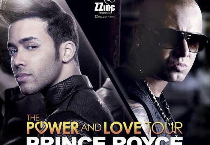 Prince Royce y Wisin unirán la bachata y el reggaetón en su gira The power of love. (@PrinceRoyce)