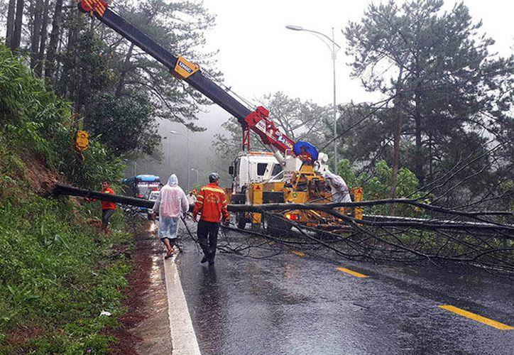 Es el segundo desastre natural que golpea el país del sureste asiático en un mes. (López Dóriga Digital)