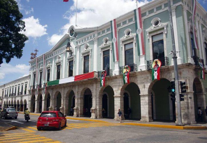 El INAH efectuará tareas de conservación y mantenimiento al edificio del Palacio de Gobierno, que tiene 122 años de antigüedad. (Milenio Novedades)