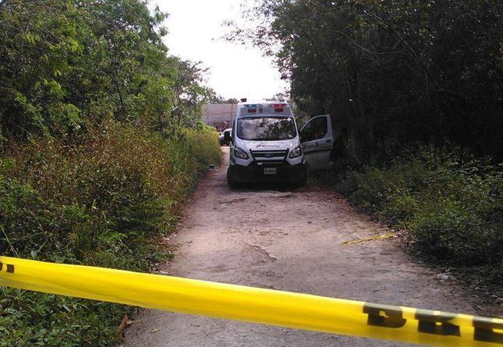 El cuerpo fue hallado en un basurero clandestino de la colonia Pedregal. (Redacción/SIPSE)