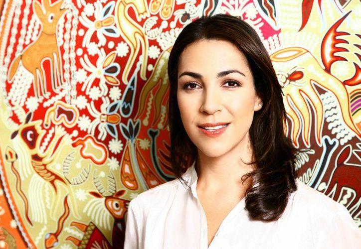 La diseñadora Cristina Pineda. (uanl.mx)