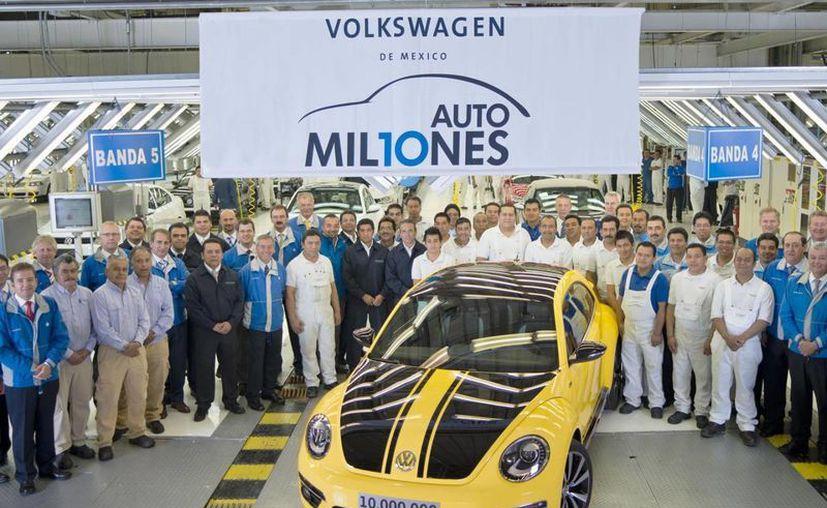 Volkswagen tiene una planta en México hace 50 años. (autocosmos.com)