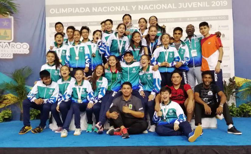 Yucatán superó por mucho sus logros de 2018 y de toda la administración anterior con 35 preseas de oro, 36 de plata y 68 de bronce, sumando 139.