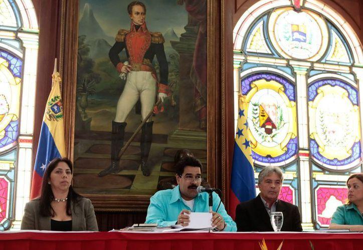 Nicolás Maduro dio el relevo a Elías Jaua. (EFE)