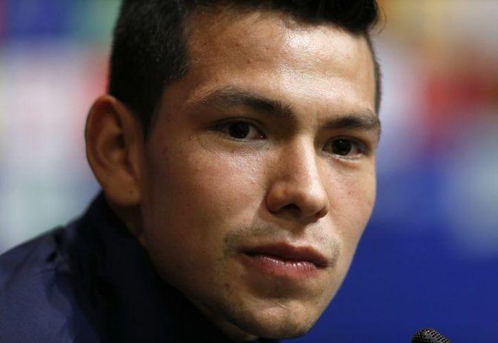 Hirving Lozano no descarta en un futuro jugar con el Barça. (Televisa Deportes)