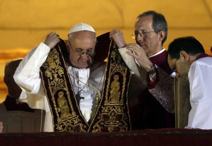 El nuevo Papa, el argentino Jorge Mario Bergoglio. (Agencias)