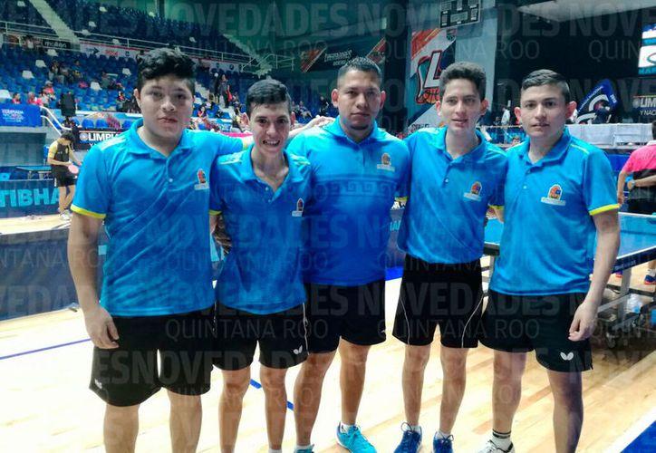 El equipo varonil fue el primero en entrar en acción, logrando el triunfo ante Jalisco. (Raúl Caballero/SIPSE)