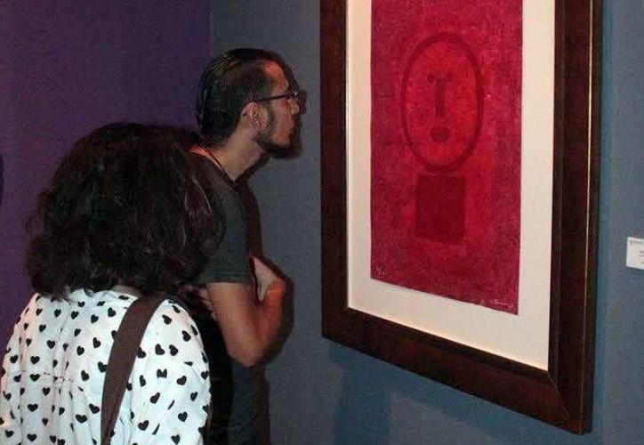 Los ocho cuadros de Rufino Tamayo se encuentran exhibidos en la galería del Teatro 'Jose Peón Contreras'. (Milenio Novedades)