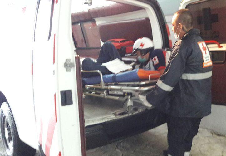 El joven fue lesionado en el estómago con un arma blanca. (Foto: Redacción)