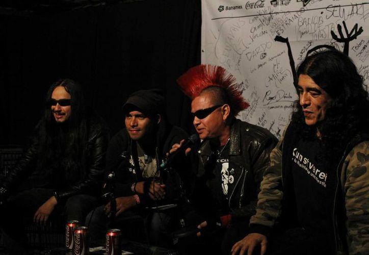 Garrobos es una banda originaria del Distrito Federal. (riff111.com.)