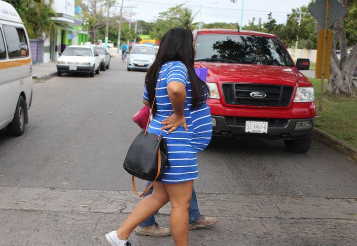 En Quintana Roo un total de 14 mil 429 niñas y adolescentes de entre 12 y 19 años han estado embarazadas alguna vez. (Joel Zamora/SIPSE)