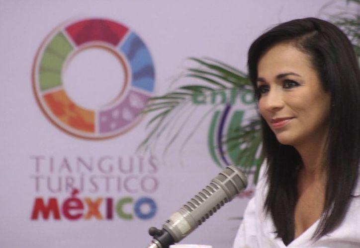 Laura Fernández Piña, secretaria de Turismo de Quintana Roo, confirmó que se reforzará el apoyo a estos destinos para incentivar el turismo. (Sergio Orozco/SIPSE)