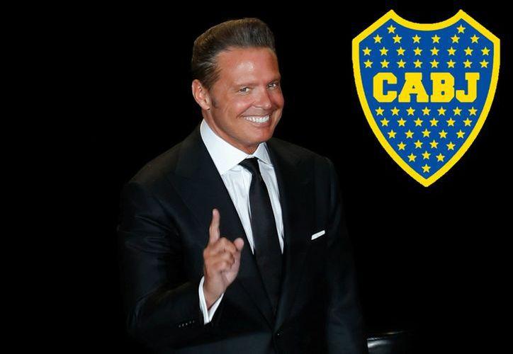 Luis Miguel asistió de incógnito a un partido de Boca Juniors, hace 30 años, en La Bombonera. (Milenio)