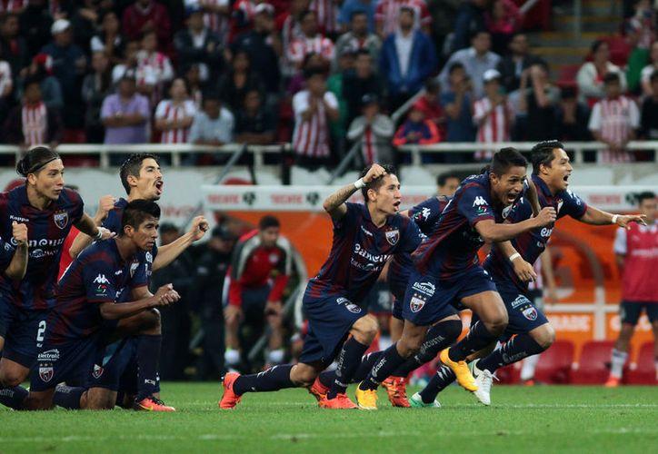 Ayer los Potros eliminaron al campeón de la Copa MX. (Foto: JamMedia)
