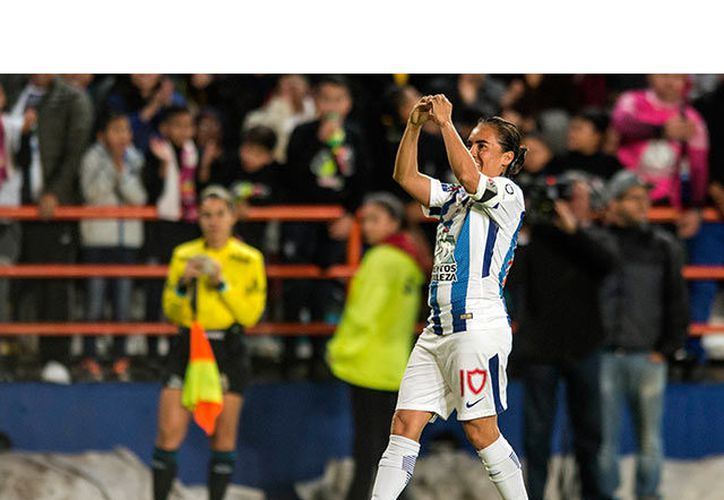 Mónica Ocampo metió un gol que llevó a la victoria a las Tuzas al derrotar 2-0 a Chivas. (Foto: FoxSport)