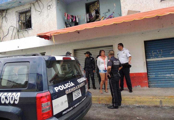 Dos sexoservidoras fueron detenidas ayer por elementos de la Gendarmería Nacional. (Redacción/SIPSE)