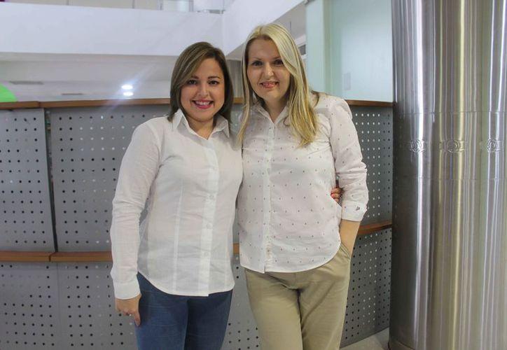 Isabel Souquet y Alena Seredynskaya comentaron que deseaban hacer algo diferente para los cancunenses. (Faride Cetina/SIPSE)