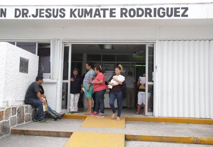 """La niña continúa en el Hospital General """"Jesús Kumate Rodríguez"""". (Consuelo Javier/SIPSE)"""