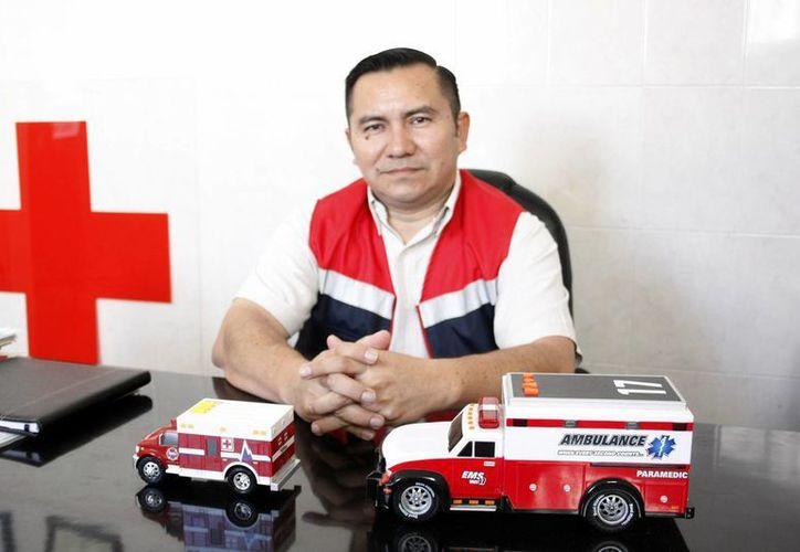 abriel Enrique Castro Espinosa, coordinador local de Socorros de la Delegación Mérida de la Cruz Roja. (Tehani Ruz/SIPSE)