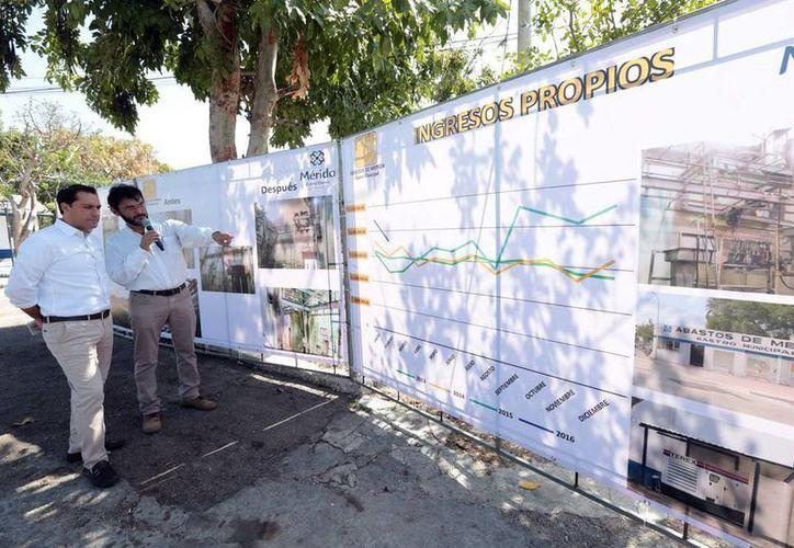 Las obras de rehabilitación de Abastos de Mérida (Rastro Municipal) abarcaron diversas zonas. (Milenio Novedades)