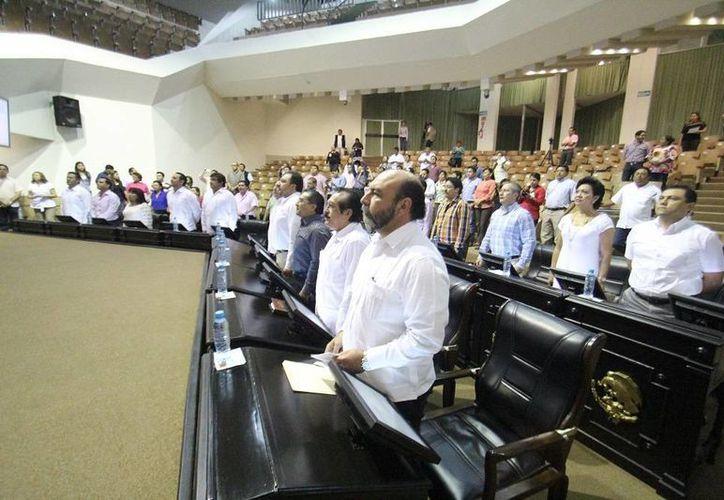 Este lunes los diputados de Yucatán iniciaron nuevo periodo ordinario de sesiones. (SIPSE)